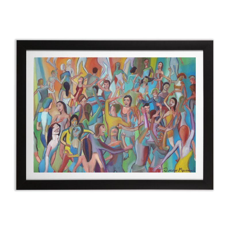The dance 7 Home Framed Fine Art Print by Diego Manuel Rodriguez Artist Shop