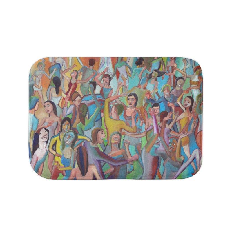 The dance 7 Home Bath Mat by Diego Manuel Rodriguez Artist Shop