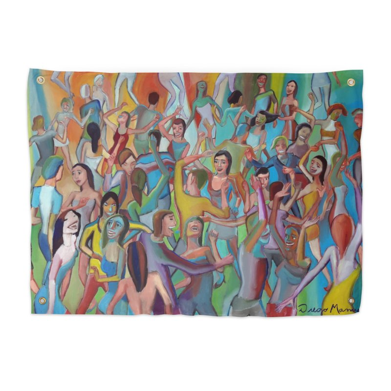 The dance 7 Home Tapestry by Diego Manuel Rodriguez Artist Shop