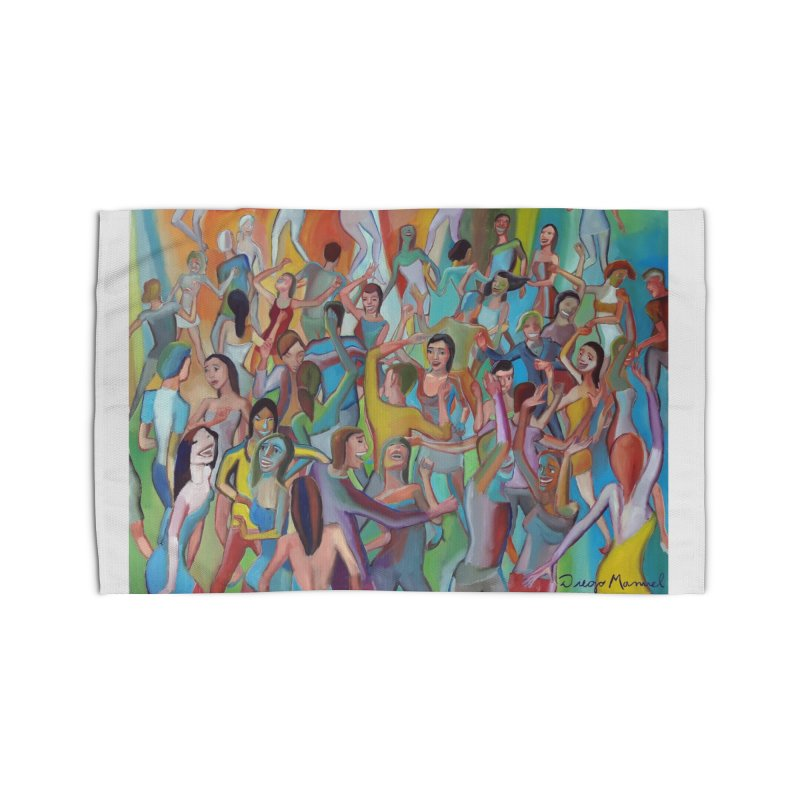 The dance 7 Home Rug by Diego Manuel Rodriguez Artist Shop