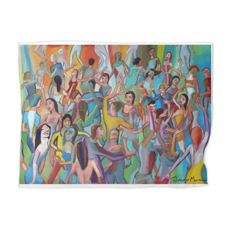 The dance 7 Home Blanket by Diego Manuel Rodriguez Artist Shop