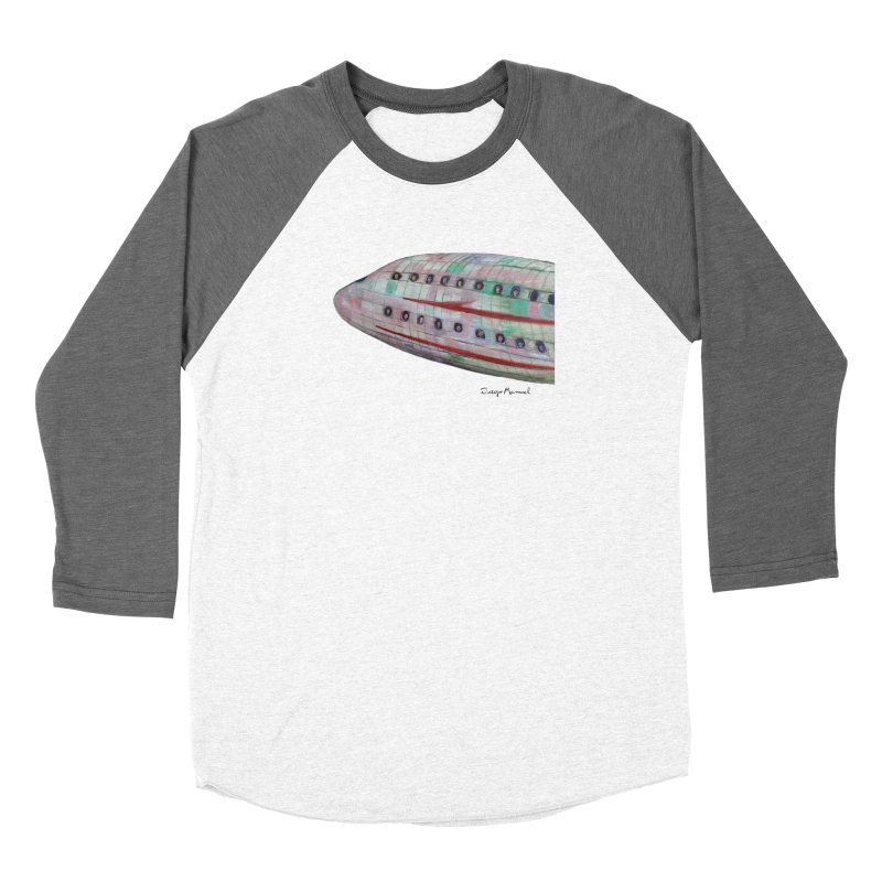 The plane 3 Women's Longsleeve T-Shirt by Diego Manuel Rodriguez Artist Shop