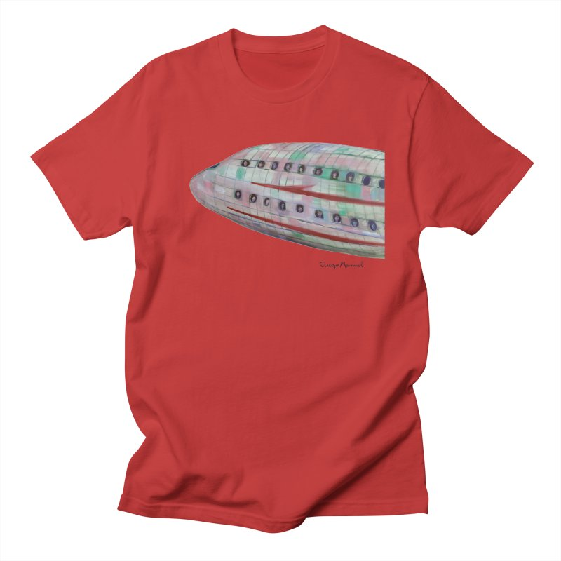 The plane 3 Men's T-Shirt by Diego Manuel Rodriguez Artist Shop