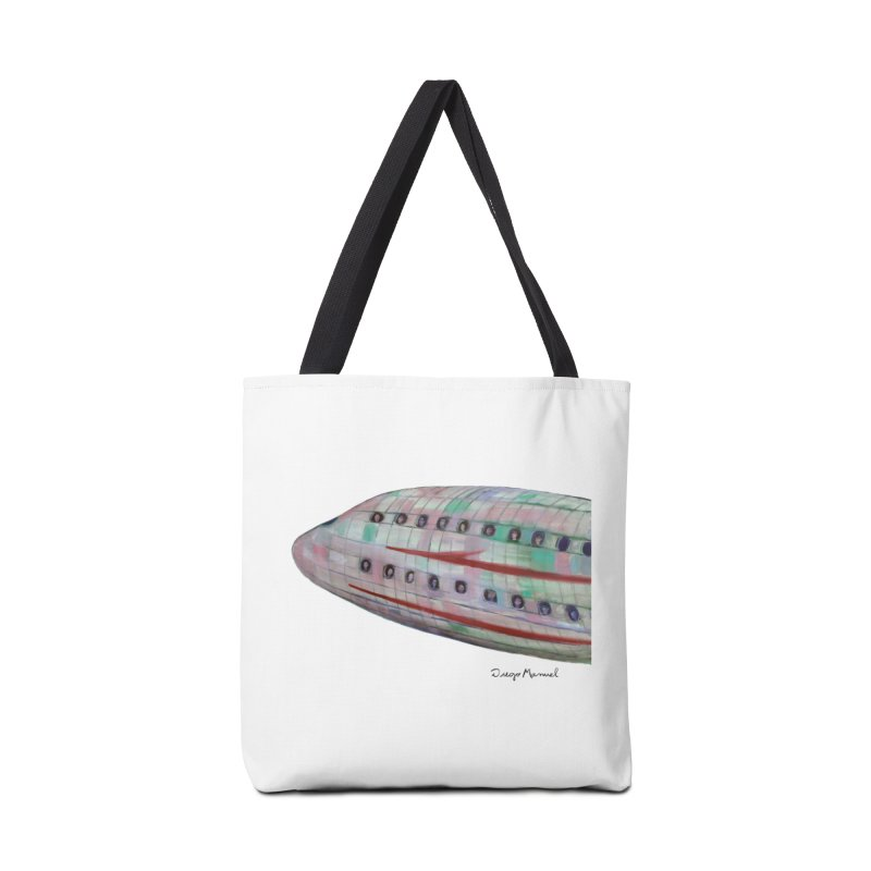 The plane 3 Accessories Tote Bag Bag by diegomanuel's Artist Shop
