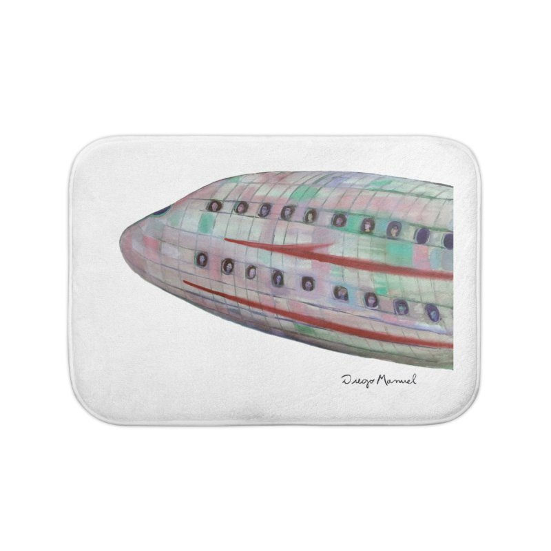 The plane 3 Home Bath Mat by diegomanuel's Artist Shop