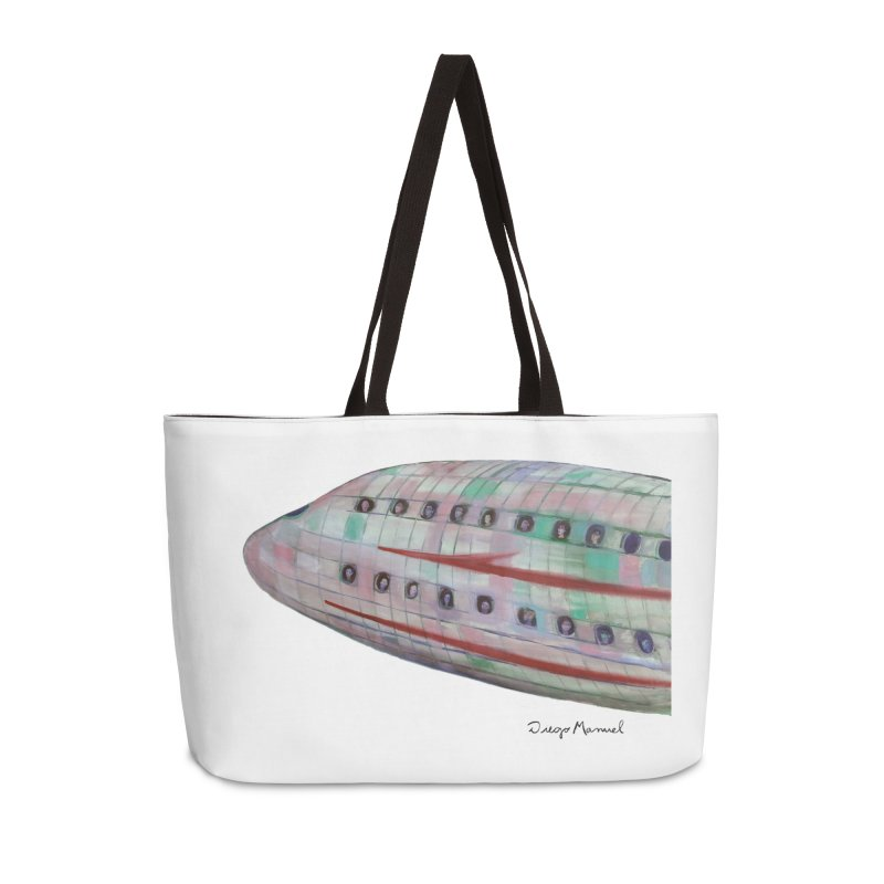 The plane 3 Accessories Weekender Bag Bag by diegomanuel's Artist Shop