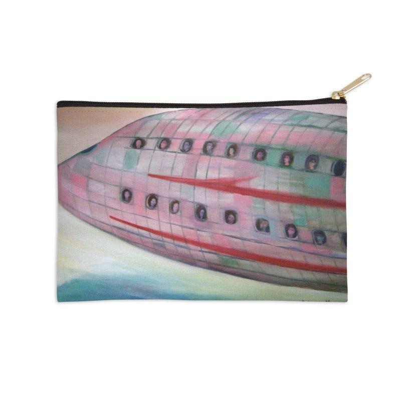 El avión 3 Accessories Zip Pouch by diegomanuel's Artist Shop