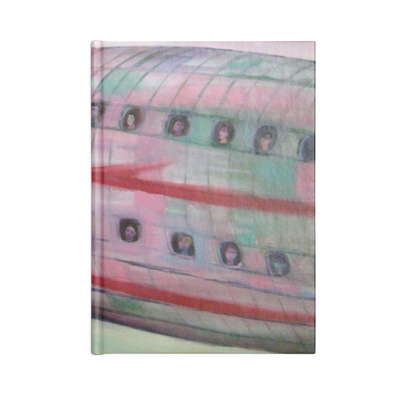 El avión 3 Accessories Notebook by diegomanuel's Artist Shop