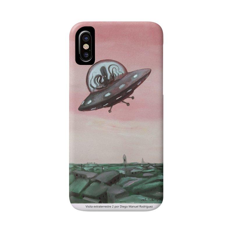 Extraterrestrial visit Accessories Phone Case by diegomanuel's Artist Shop