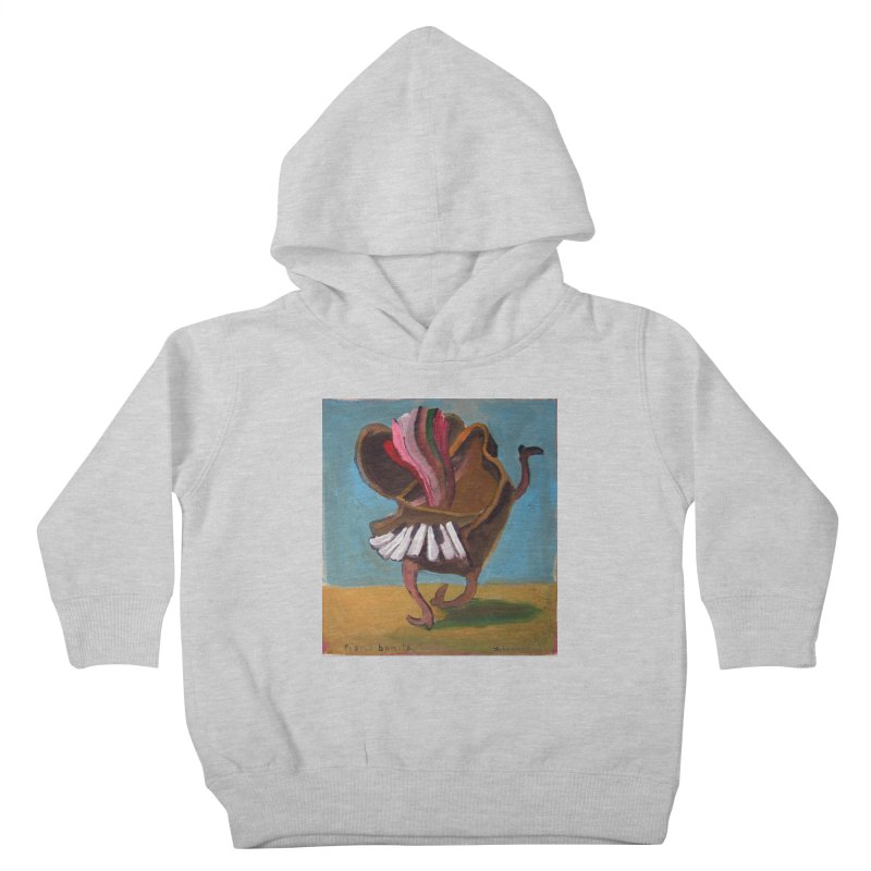 Dancing piano Kids Toddler Pullover Hoody by Diego Manuel Rodriguez Artist Shop