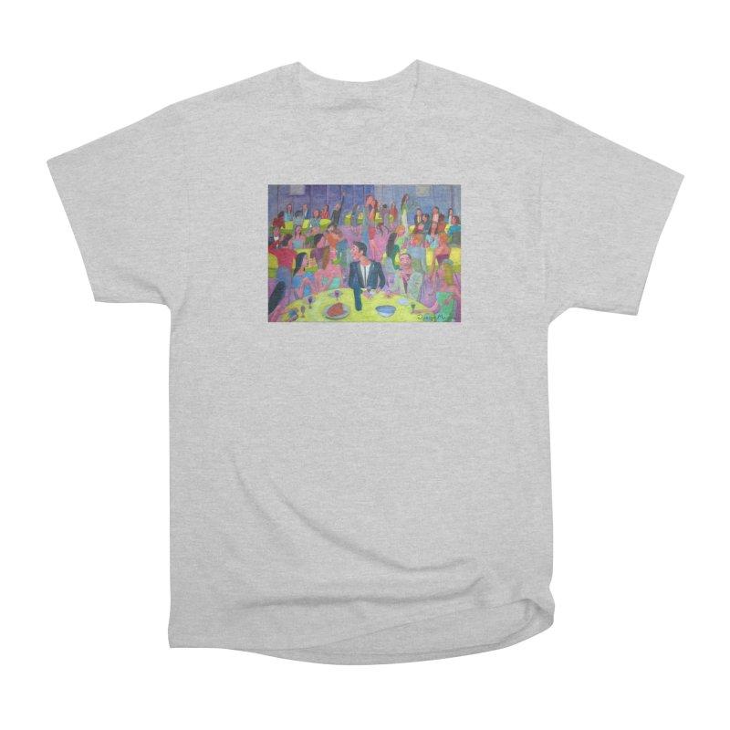 Social meeting 10 Men's T-Shirt by Diego Manuel Rodriguez Artist Shop