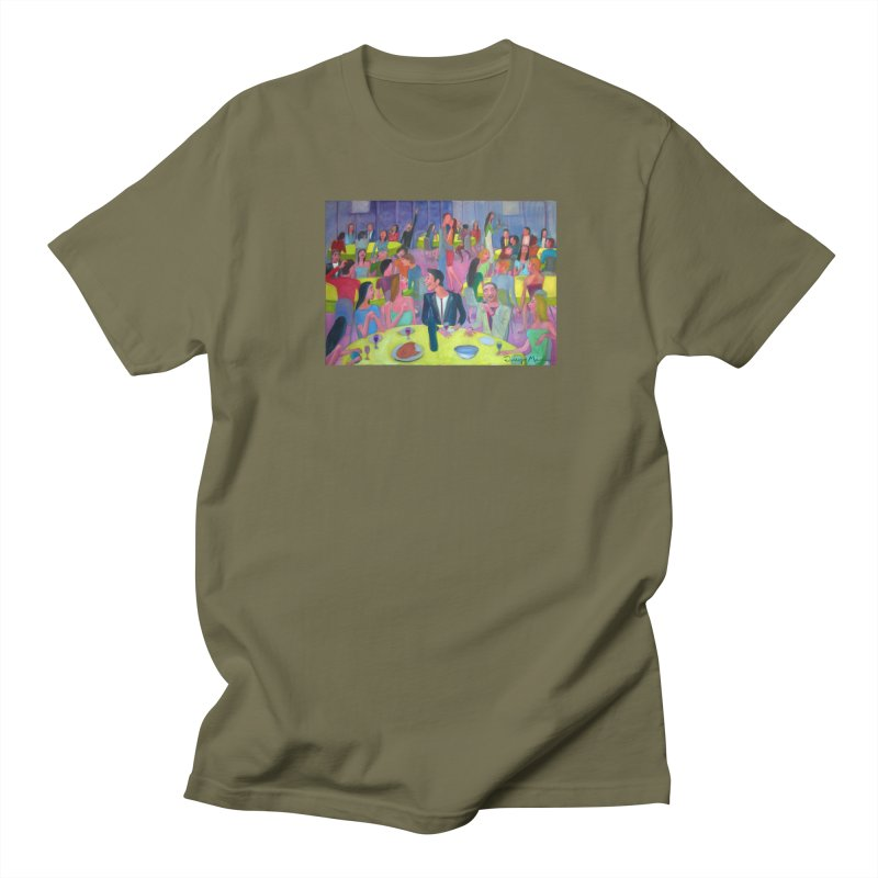 Social meeting 10 Men's T-Shirt by Diego Manuel Rodriguez Artist Shop