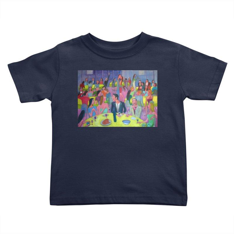 Social meeting 10 Kids Toddler T-Shirt by Diego Manuel Rodriguez Artist Shop
