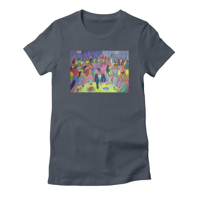 Social meeting 10 Women's T-Shirt by Diego Manuel Rodriguez Artist Shop