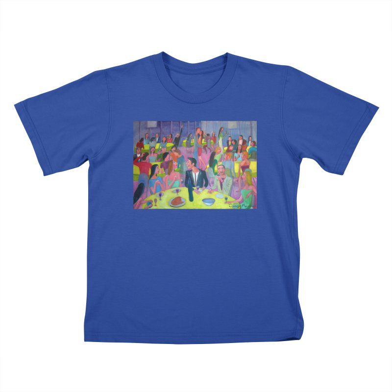 Social meeting 10 Kids T-Shirt by Diego Manuel Rodriguez Artist Shop