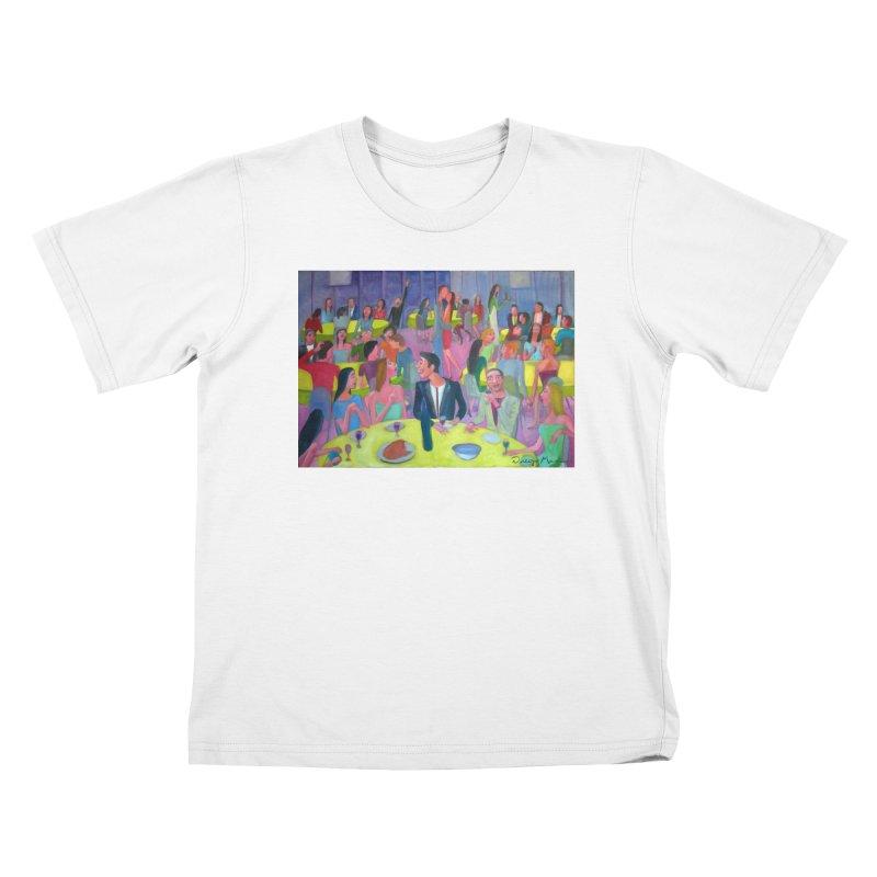 Social meeting 10 Kids T-Shirt by Diego Manuel Rodriguez Artist Shop