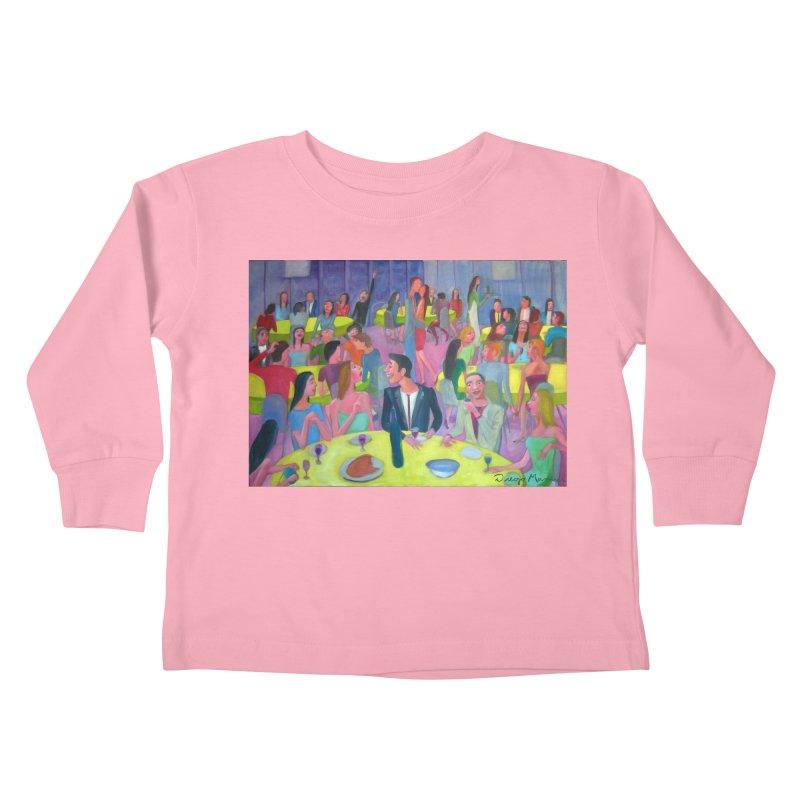 Social meeting 10 Kids Toddler Longsleeve T-Shirt by Diego Manuel Rodriguez Artist Shop
