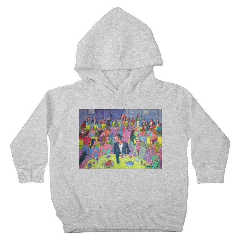 Social meeting 10 Kids Toddler Pullover Hoody by Diego Manuel Rodriguez Artist Shop