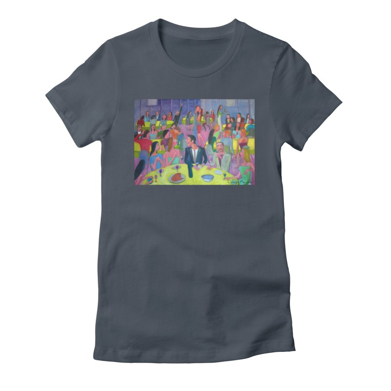 Social meeting 10 Women's T-Shirt by Diego Manuel Rodriguez Artist Shop