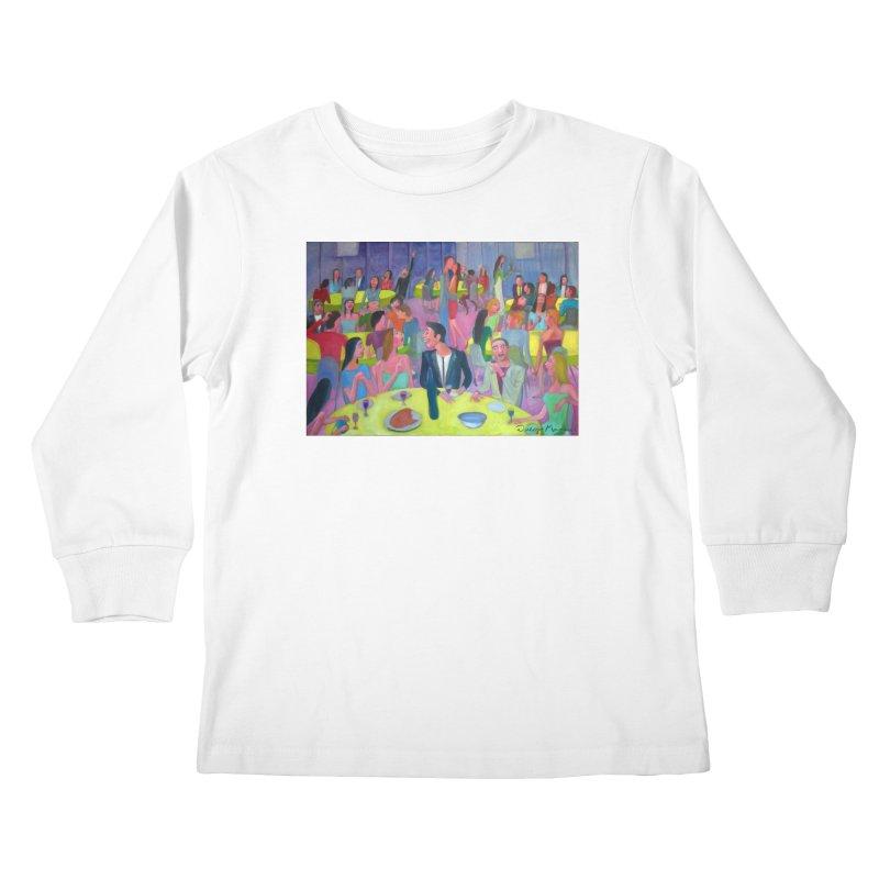 Social meeting 10 Kids Longsleeve T-Shirt by Diego Manuel Rodriguez Artist Shop