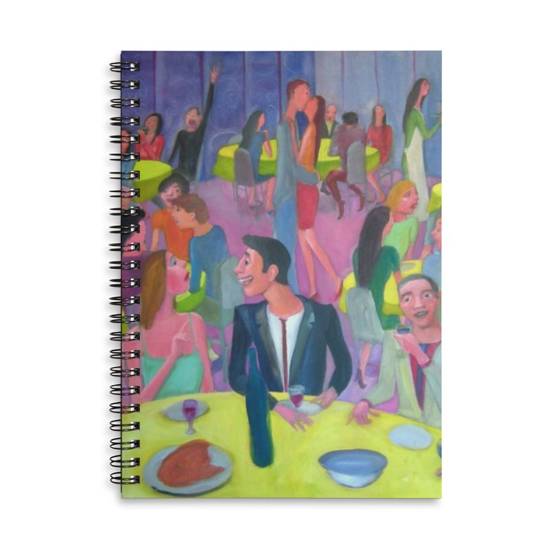 Social meeting 10 Accessories Notebook by Diego Manuel Rodriguez Artist Shop