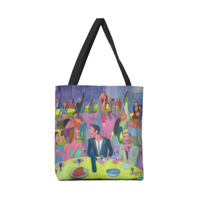 Social meeting 10 Accessories Tote Bag Bag by diegomanuel's Artist Shop