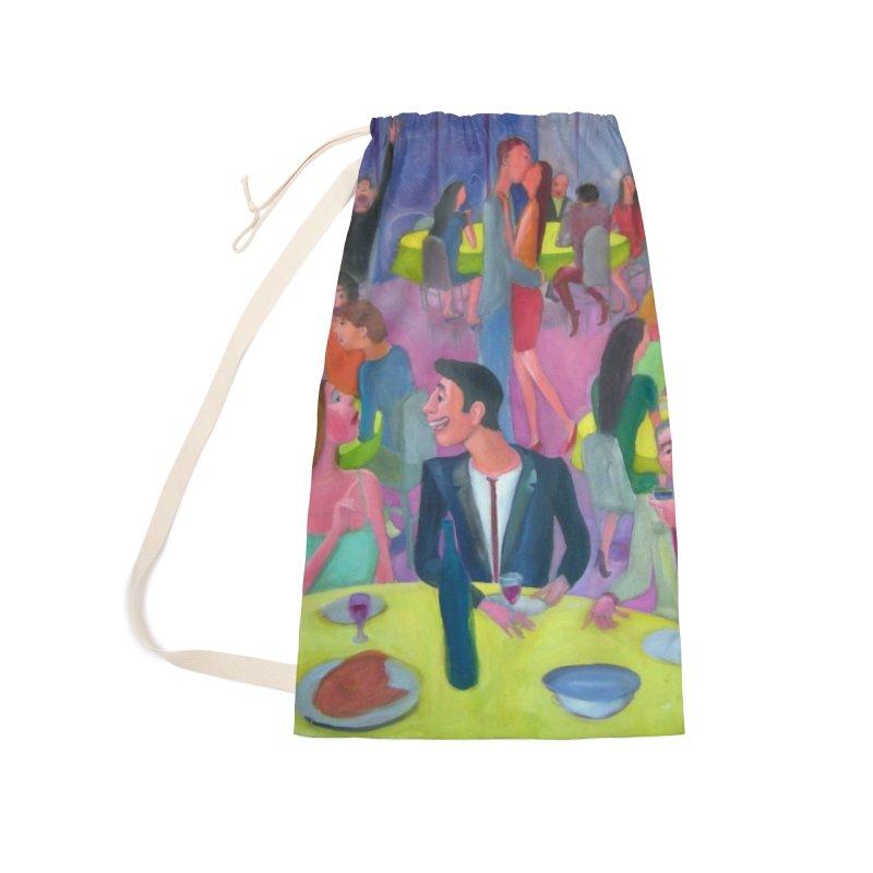 Social meeting 10 Accessories Bag by Diego Manuel Rodriguez Artist Shop