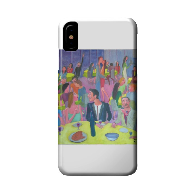 Social meeting 10 Accessories Phone Case by Diego Manuel Rodriguez Artist Shop