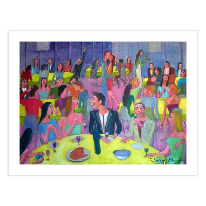 Social meeting 10 Home Fine Art Print by Diego Manuel Rodriguez Artist Shop