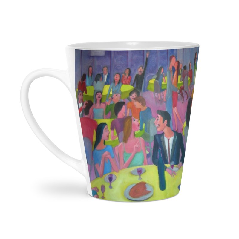 Social meeting 10 Accessories Latte Mug by diegomanuel's Artist Shop