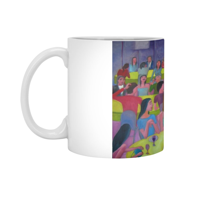 Social meeting 10 Accessories Mug by Diego Manuel Rodriguez Artist Shop