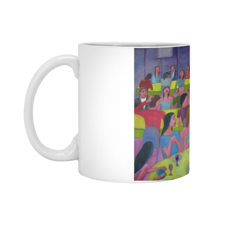 Social meeting 10 Accessories Standard Mug by diegomanuel's Artist Shop