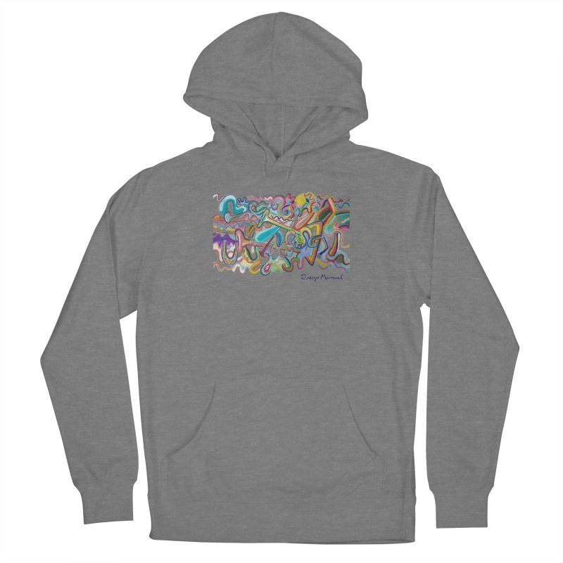 Summer composition 1 Women's Pullover Hoody by Diego Manuel Rodriguez Artist Shop
