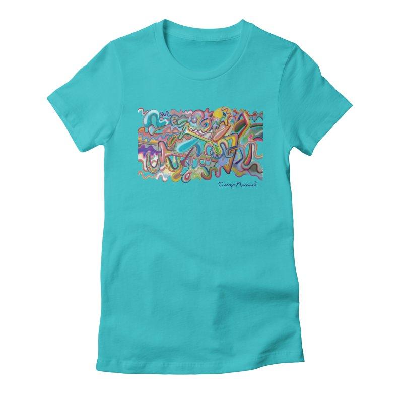 Summer composition 1 Women's T-Shirt by Diego Manuel Rodriguez Artist Shop