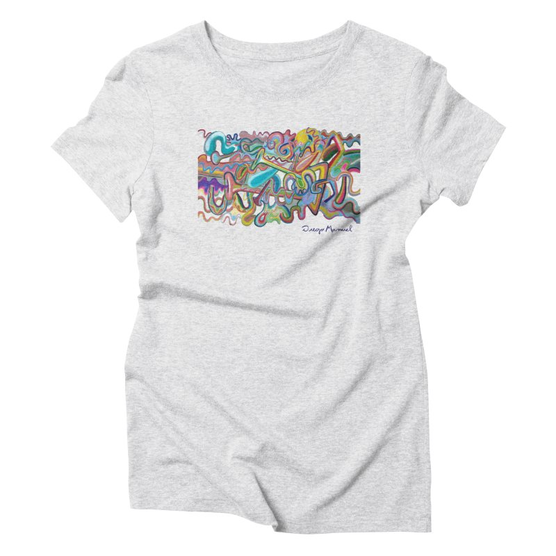 Summer composition 1 Women's T-Shirt by Diego Manuel Rodriguez Artist Shop