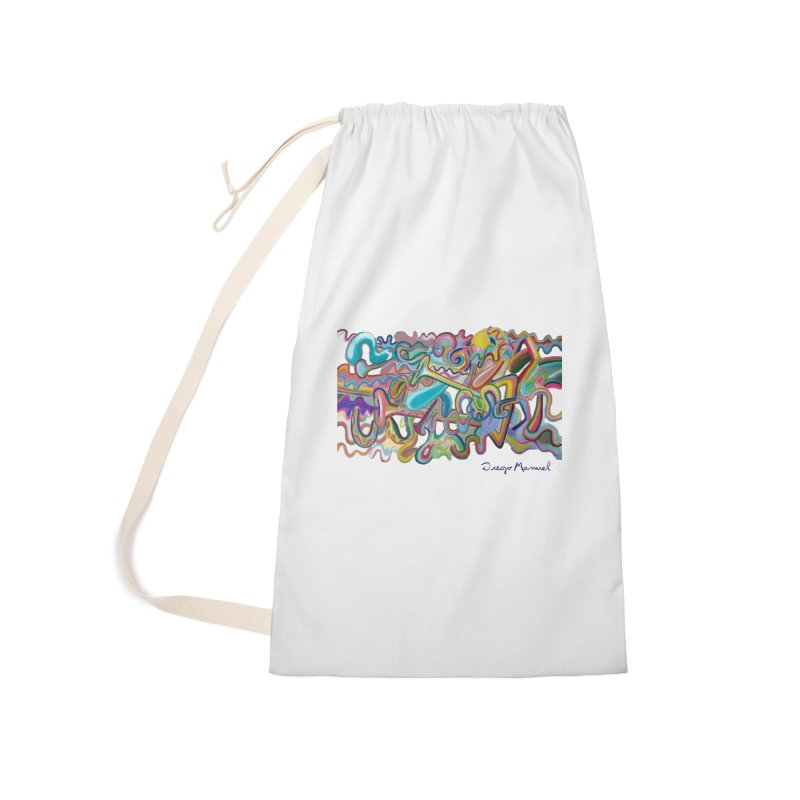 Summer composition 1 Accessories Laundry Bag Bag by diegomanuel's Artist Shop