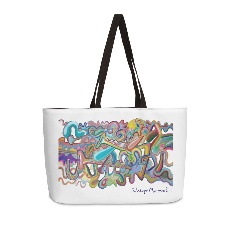 Summer composition 1 Accessories Weekender Bag Bag by diegomanuel's Artist Shop