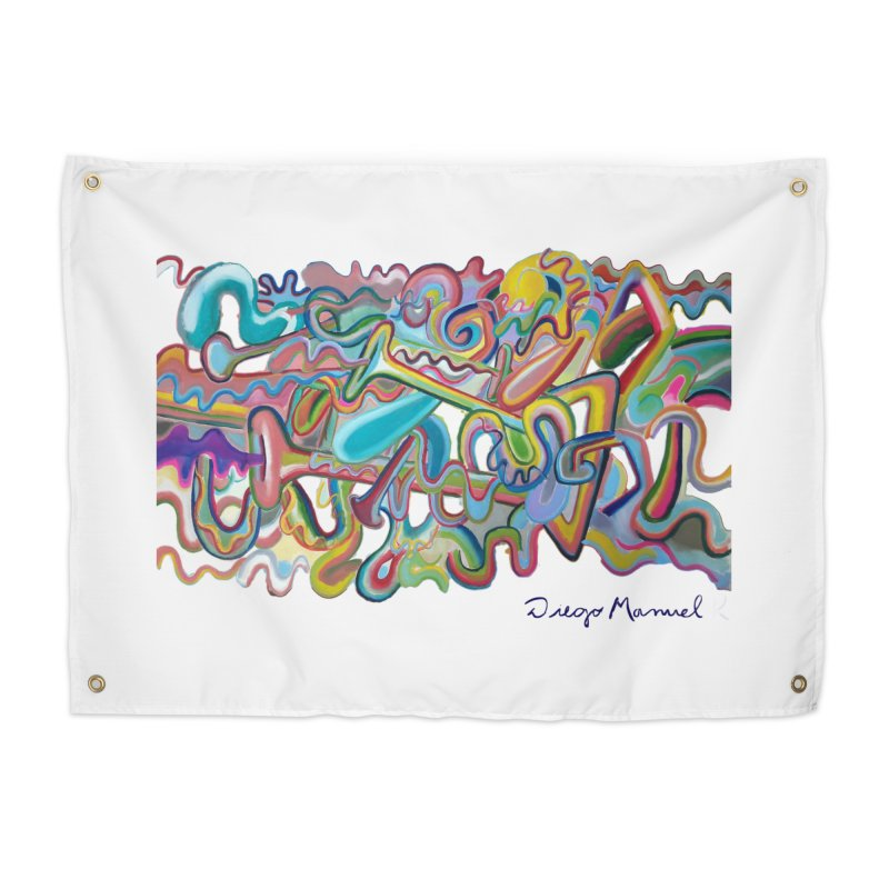 Summer composition 1 Home Tapestry by Diego Manuel Rodriguez Artist Shop