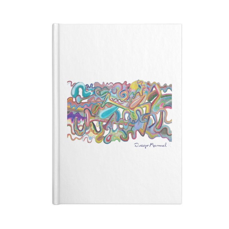 Summer composition 1 Accessories Notebook by Diego Manuel Rodriguez Artist Shop