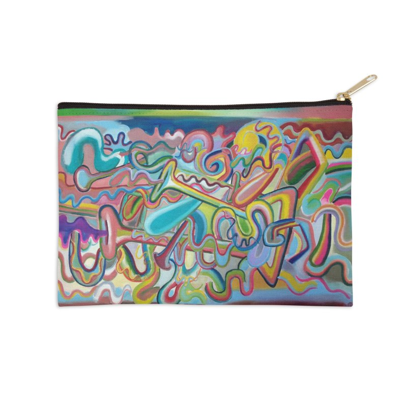 Composición verano 1 Accessories Zip Pouch by diegomanuel's Artist Shop