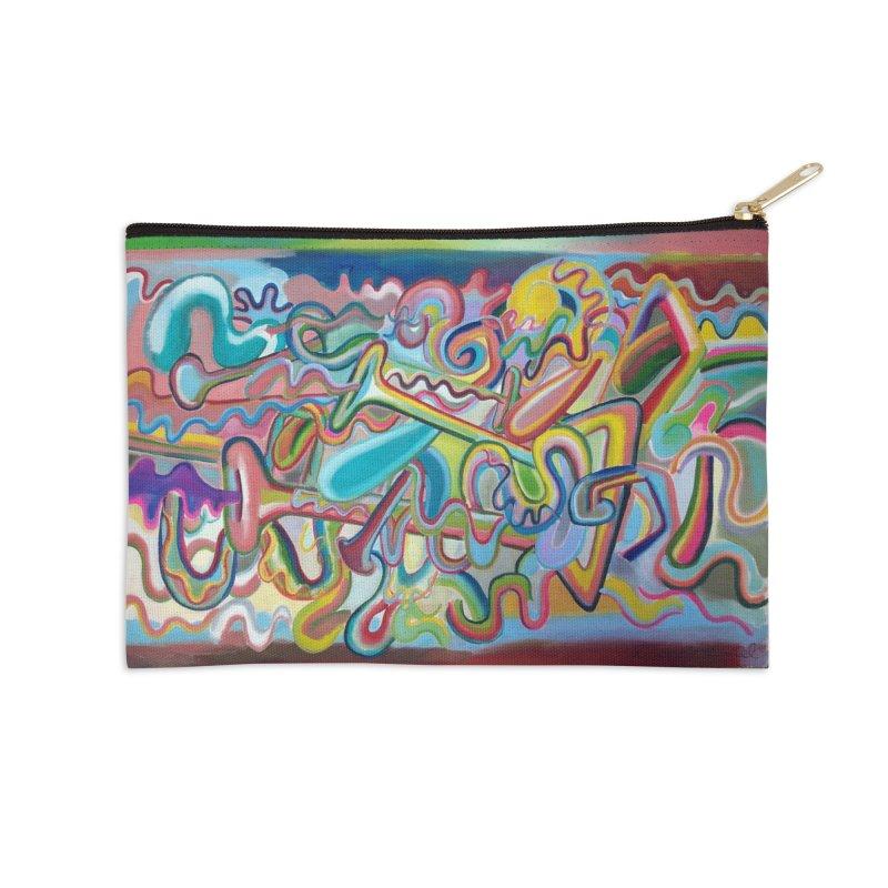 Composición verano 1 Accessories Zip Pouch by diegomanuel's Artist Shop