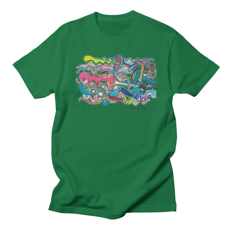Summer composition 2 Men's T-Shirt by Diego Manuel Rodriguez Artist Shop