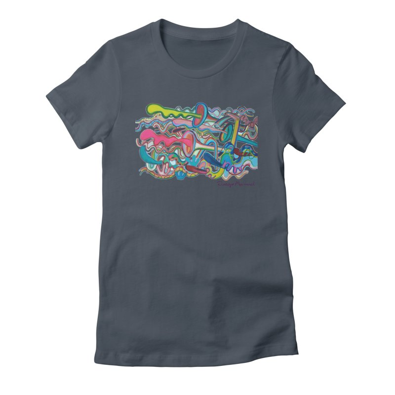 Summer composition 2 Women's T-Shirt by Diego Manuel Rodriguez Artist Shop