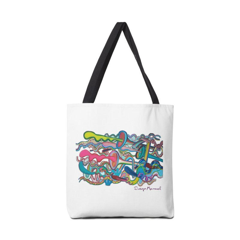 Summer composition 2 Accessories Bag by diegomanuel's Artist Shop