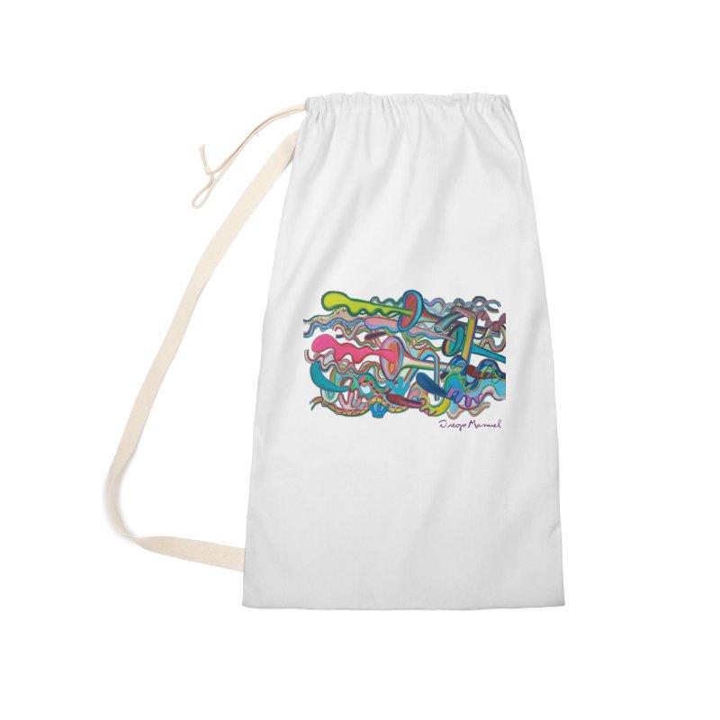 Summer composition 2 Accessories Bag by Diego Manuel Rodriguez Artist Shop