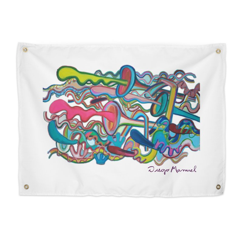 Summer composition 2 Home Tapestry by Diego Manuel Rodriguez Artist Shop