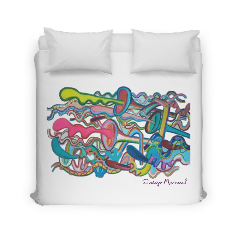 Summer composition 2 Home Duvet by diegomanuel's Artist Shop