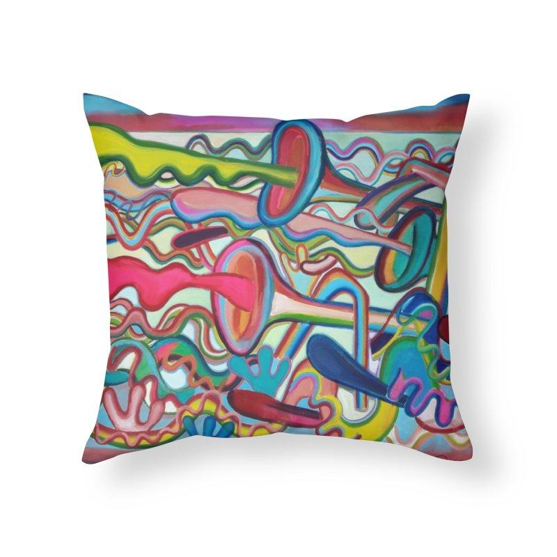 Composición verano 2 Home Throw Pillow by diegomanuel's Artist Shop