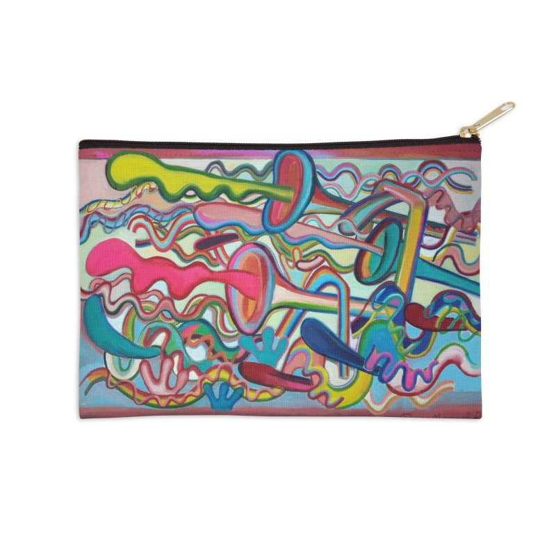 Composición verano 2 Accessories Zip Pouch by diegomanuel's Artist Shop