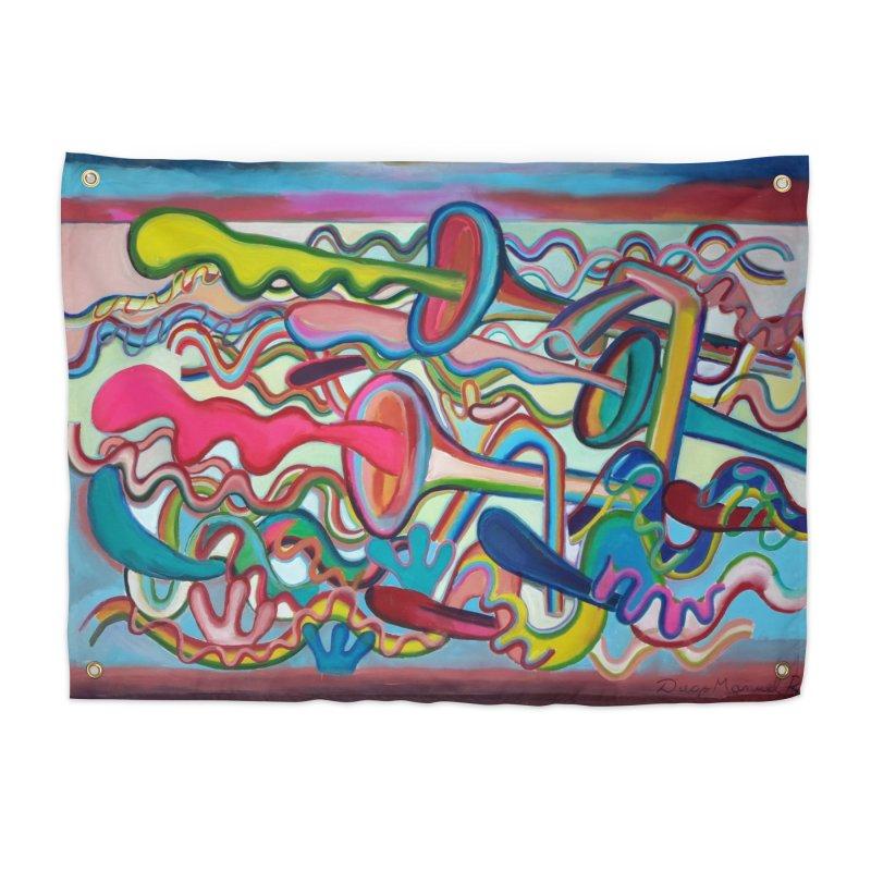Composición verano 2 Home Tapestry by diegomanuel's Artist Shop